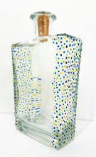 Decorated Trevethan Cornish Gin Bottle with Lights